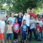 our youth with children of mission church